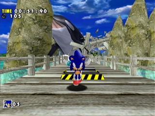 Captain Williams =/= | Sonic Adventure DX | SEGA 2003 ...